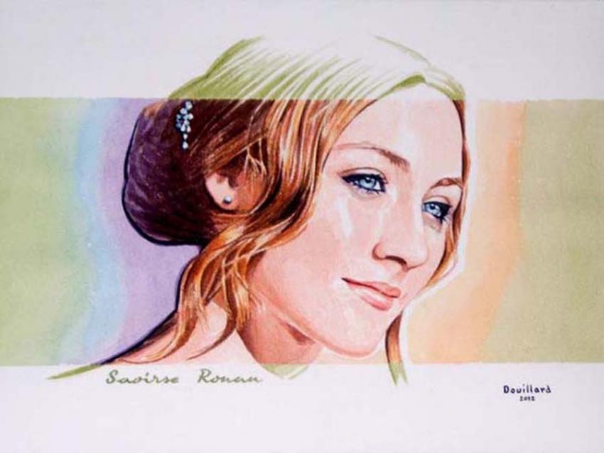 Saoirse Ronan by Douillard
